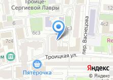 Компания «ТРОИЦКАЯ 13» на карте