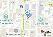 Компания «ЯноДент+» на карте