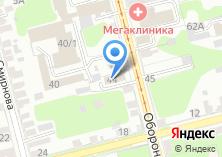 Компания «Строящееся административное здание по ул. Оборонная» на карте