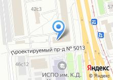 Компания «Твинлайн» на карте