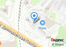 Компания «Мастер-Строй» на карте