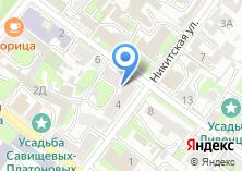Компания «Банк Москвы» на карте