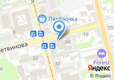 Компания «Ибм» на карте