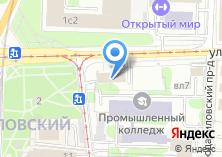 Компания «Архитектурно-художественные мастерские Данилова монастыря» на карте