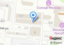 Компания «Сириус-СЕТЬ М» на карте