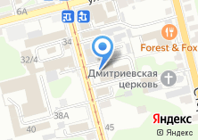 Компания «Уют» на карте