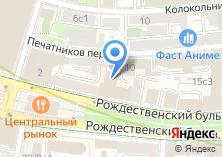 Компания «Таможенный адвокат» на карте