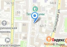 Компания «Банк РСИ» на карте