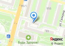 Компания «ЯР» на карте