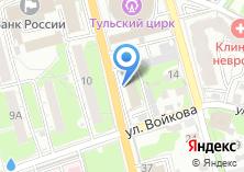 Компания «Уголовно-исполнительная инспекция УФСИН России по Тульской области» на карте