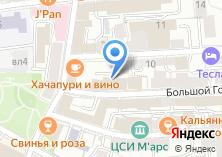 Компания «CG company» на карте