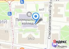 Компания «Московский промышленный колледж» на карте