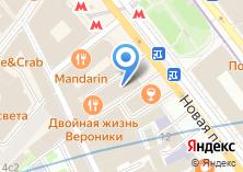Компания «Coiffure» на карте