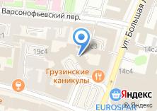 Компания «Московское кредитное агентство» на карте