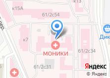 Компания «Офтальмологическая клиника» на карте