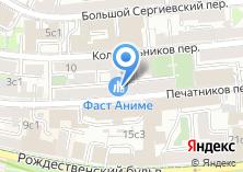Компания «Бюро-3-виза» на карте
