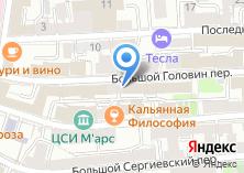Компания «Содис» на карте