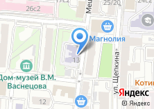 Компания «Детский сад №1277» на карте
