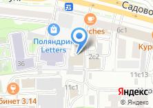 Компания «Интелвест» на карте