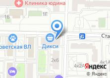 Компания «At-expert» на карте