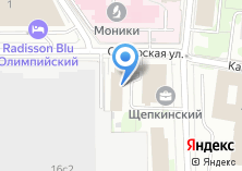Компания «Всемирные Русские Студии» на карте