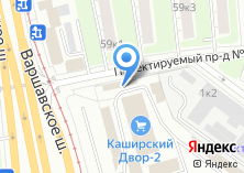 Компания «Каширский двор-2» на карте