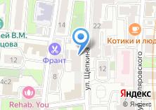 Компания «Центр клинической стоматологии ЮКО» на карте