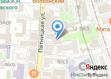 Компания «Иностранная литература» на карте