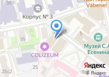 Компания «Златия» на карте