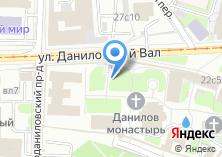 Компания «Поминальная часовня Даниловского монастыря» на карте