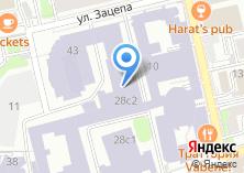 Компания «РЭУ» на карте