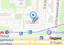 Компания «Москомсвязь» на карте