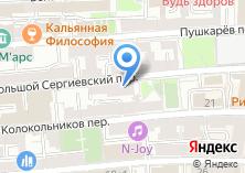 Компания «Инстар» на карте