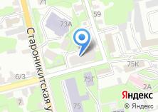 Компания «Туластройком» на карте