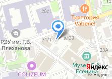 Компания «Строящееся административное здание по ул. Стремянный пер» на карте