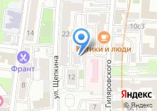 Компания «Адвокатский кабинет Мантеевой Ж.Е.» на карте