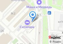 Компания «Афтэк» на карте