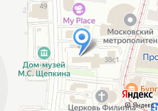 Компания «Московский Дом научно-технического и художественного творчества обучающихся и студентов профессионального образования» на карте