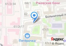 Компания «Штурм-Москва» на карте