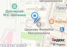 Компания «Часовня просветителей земли Сибирской» на карте