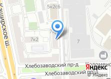 Компания «Мосреактив» на карте