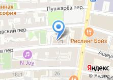 Компания «Министерство здравоохранения РФ» на карте