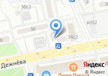 Компания «Мастерская по ремонту обуви на проезде Дежнёва» на карте