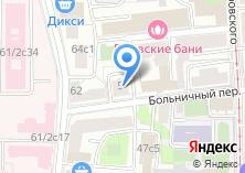 Компания «ТРАНСИНФОСЕТЬ» на карте
