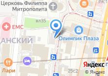 Компания «Медпроф» на карте