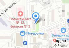 Компания «Точка Доступа» на карте