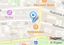 Компания «Belvedor» на карте