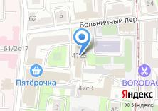 Компания «Инрус» на карте