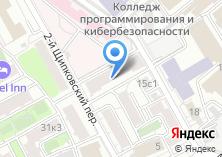 Компания «Продуктовый магазин на Щипковском 1-м пер» на карте