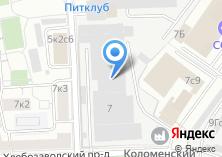 Компания «Коломенский» на карте